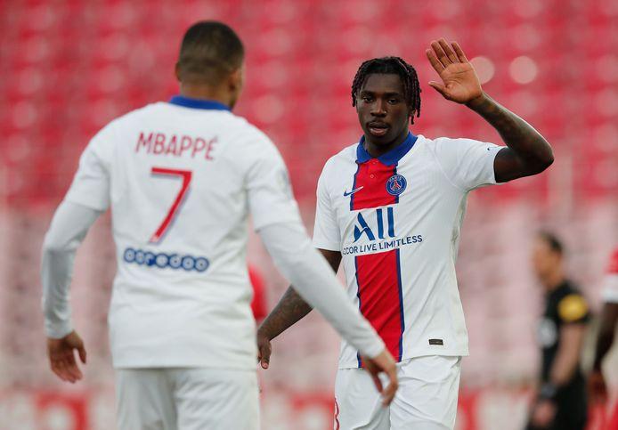 Mbappé en Kean.