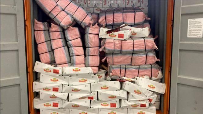 Met 7851 kilo afgepakte cocaïne beleeft Rotterdamse haven recordweek: 'Zúlke partijen? Wonderlijk'