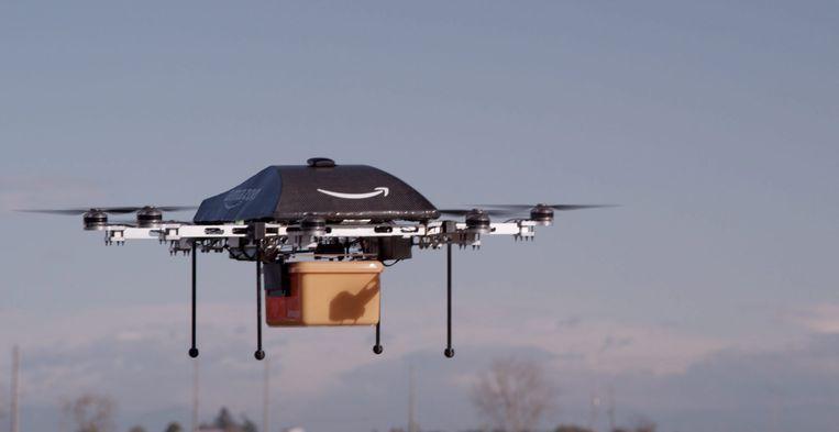 Amazon lanceerde in 2013 bezorgdrones.