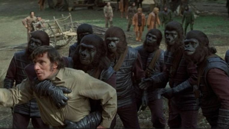 Planet of the Apes 1973 Beeld rv