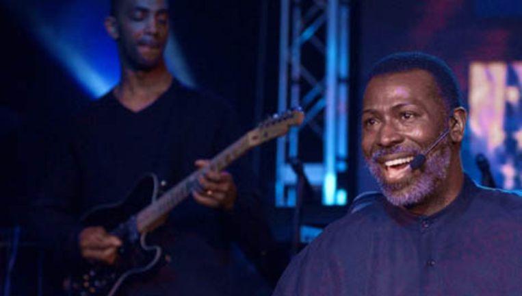 De Amerikaanse soulzanger Teddy Pendergrass. Foto AP Beeld