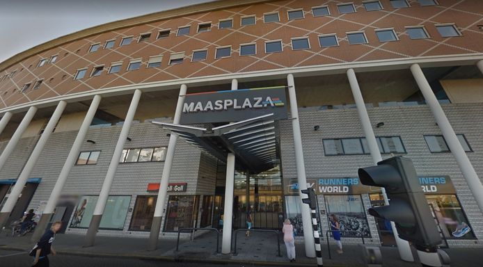 Maasplaza in Dordrecht.
