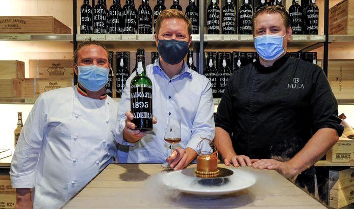 Niek Bossaert, Bert De Clerck en Thijs Clinkemaillie: drie jonge ondernemers die een uniek concept uitwerkten om de 125ste verjaardag van het kasteel van Heule te vieren.
