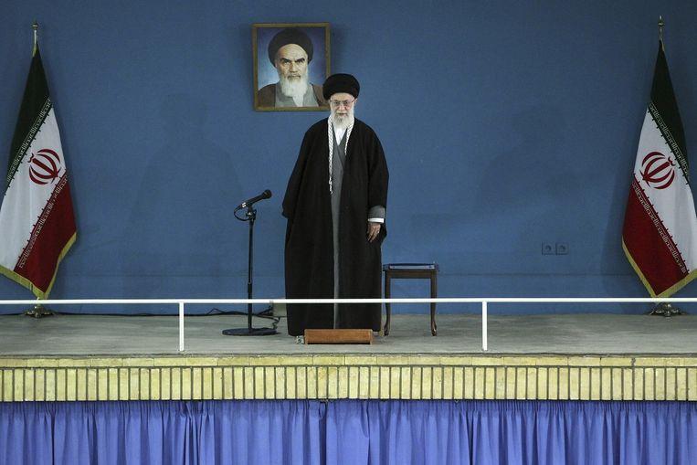 Ayatollah Ali Khamenei Beeld ap