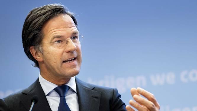 """Premier Rutte over versoepelingen in Nederland: """"We doen iets heel spannends"""""""