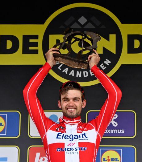 Asgreen klopt Van der Poel in de sprint: 'Ik bleef in zijn wiel en sloeg op het juiste moment toe'