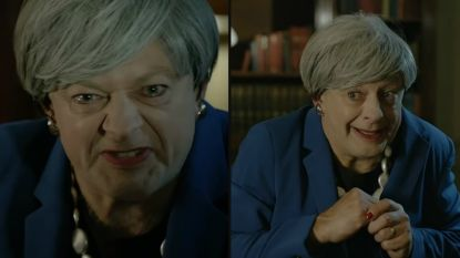 """We're in a nasty mess, my precious!"": Gollem uit 'Lord of the Rings' imiteert op onnavolgbare wijze Theresa May"
