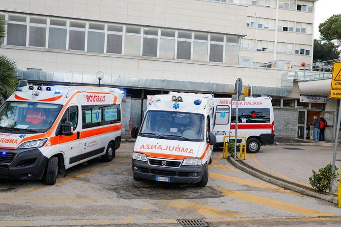 L'hôpital Cardarelli à Naples / Photo prétexte