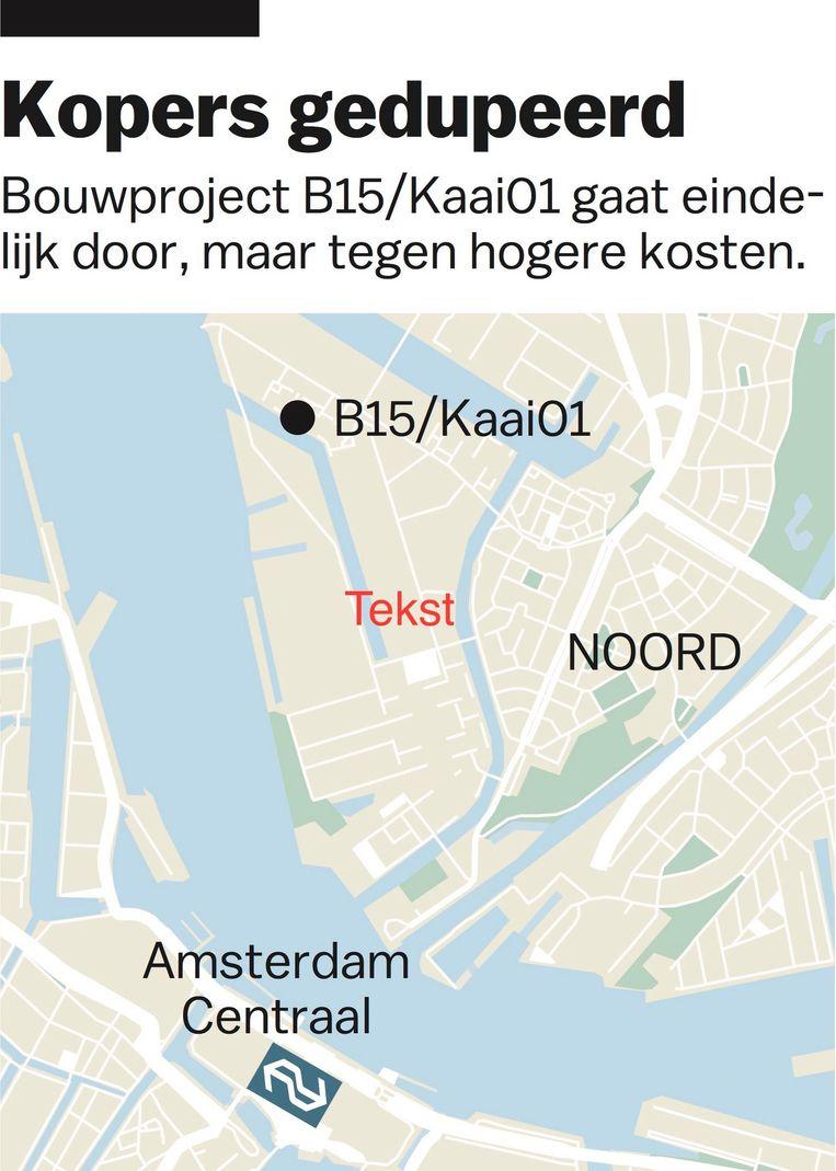 Bron: Maps4News Beeld JG / Het Parool
