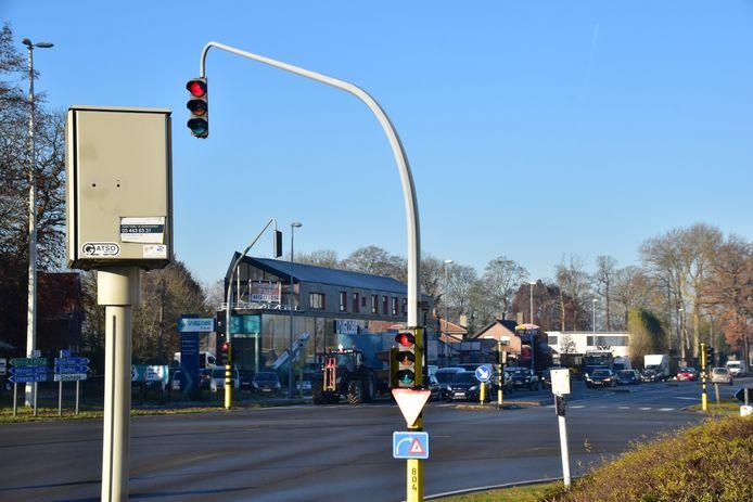De camera op het kruispunt van de R32 met de Diksmuidsesteenweg in Roeselare stond verkeerd ingesteld.