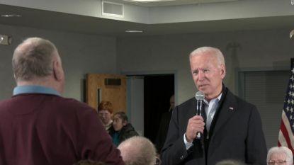 """Kregelige Joe Biden stevig uit de bocht na vraag van kiezer: """"Jij bent een verdomde leugenaar"""""""