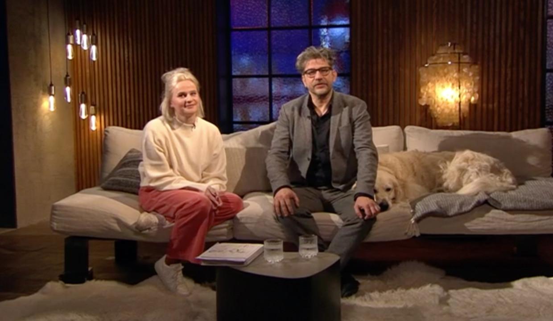Siel Verhanneman en Wim Helsen Beeld vrt