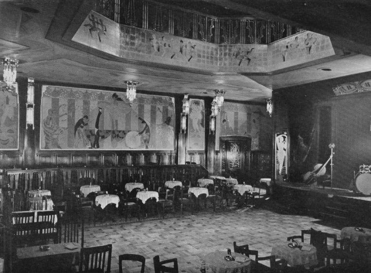 De oude cabaretzaal La Gaîté. Beeld