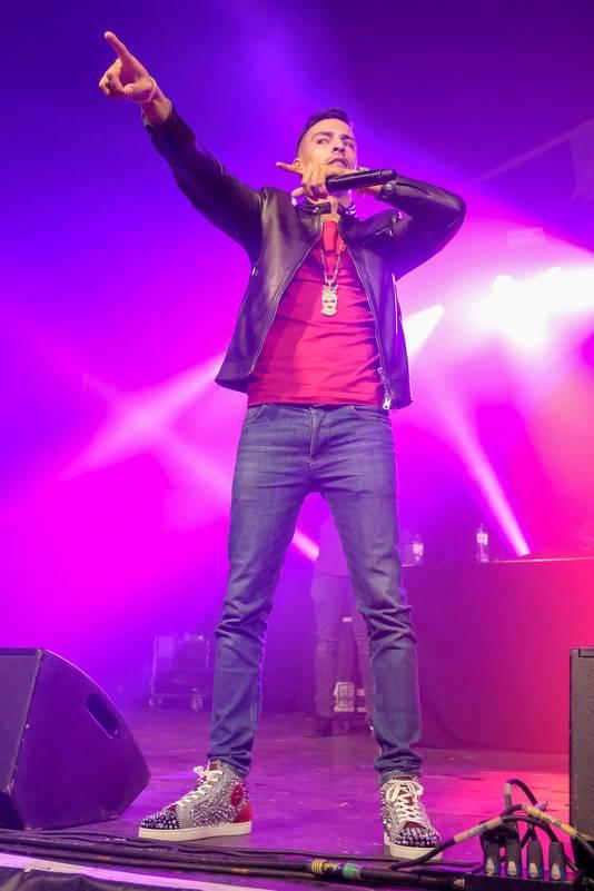 De Nederlandse rapper Boef.