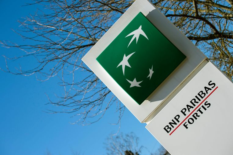 Logo BNP Paribas ter illustratie. Beeld Photo News