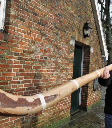Jort uit Tubbergen wil maar één ding: 'poez'n' op zijn zelfgemaakte midwinterhoorn