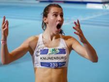 Gouden scrunchie brengt Anne Knijnenburg (18) uit Berghem geluk: ze steelt de show met Nederlandse titel op de 1500 meter