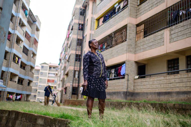 De appartementencomplexen van het Beloofde Land.  Beeld Gordwin Odhiambo