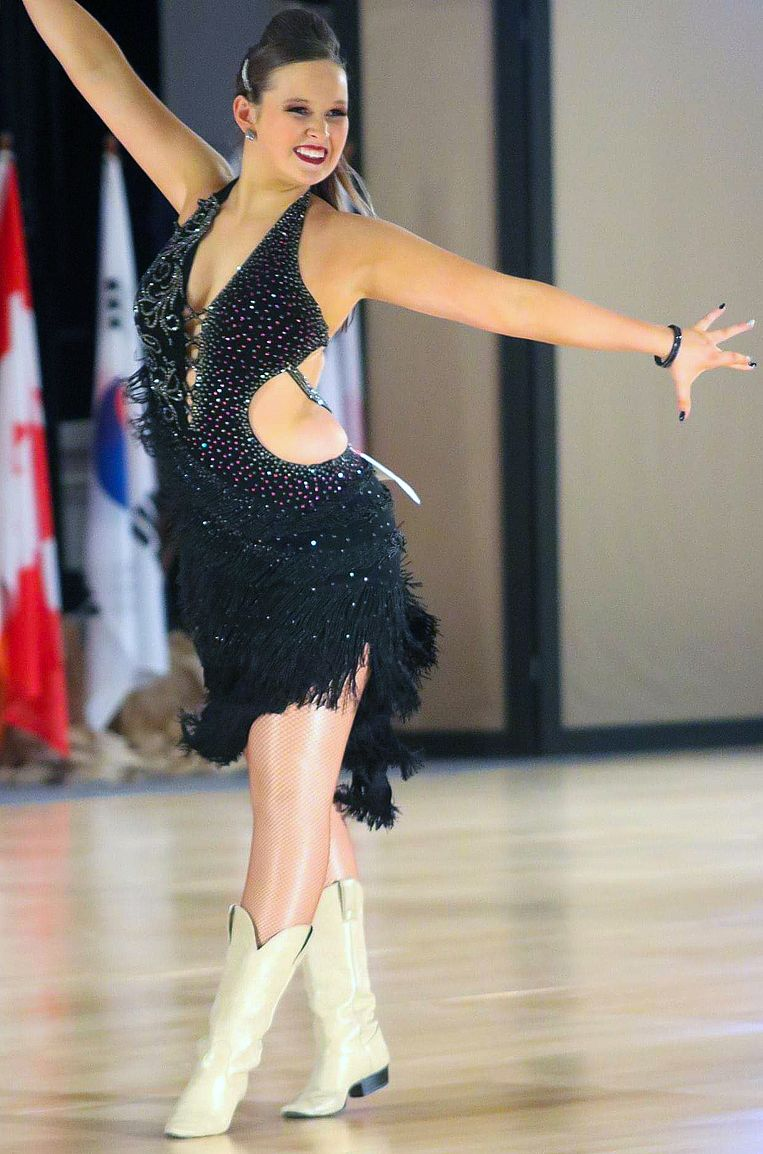 Jana Bogaerts (19) is wereldkampioen linedance.