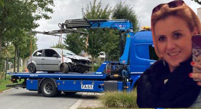 Stefanie Verstappen, een 25-jarige bejaardenverzorgster uit Tielt, was samen met haar vriend op weg naar haar werk toen ze met hun wagen in de gracht belandden.