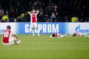 Ajax uitgeteld na het debacle tegen Spurs in het voorjaar.