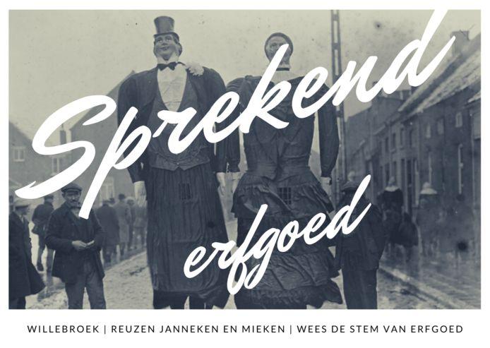 Een van de postkaarten die werden gelanceerd door IGEMO.