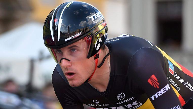 Belgisch kampioen Kristof Vandewalle behaalde zijn eerste individuele WorldTour-zege. Beeld EPA