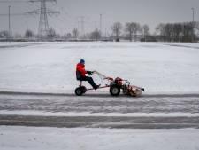 IJzendoorn heeft al acht centimeter ijs: schaatsen dus