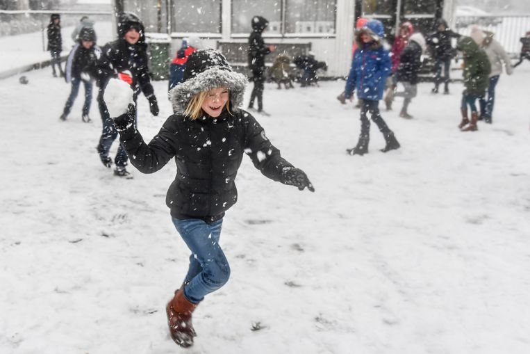 Kinderen moeten in de sneeuw kunnen spelen, vindt N-VA.