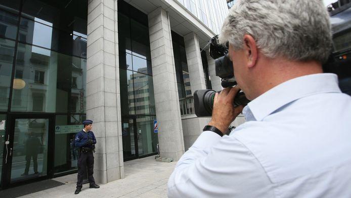 Les bâtiments de la police fédérale à Bruxelles.