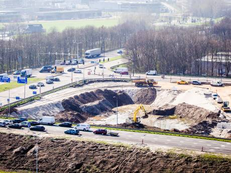Grote overlast verwacht bij afsluiting Rijksstraatweg in Dordrecht
