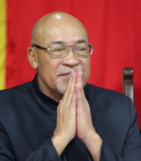 Bouterse bedankt Krijgsraad voor veroordeling