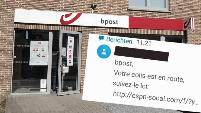 Al meer dan 9.000 mobiele toestellen besmet door gevaarlijk virus via phishingberichten in naam van bpost