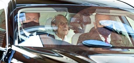 Le prince Philip, époux de la reine Elizabeth, a quitté l'hôpital