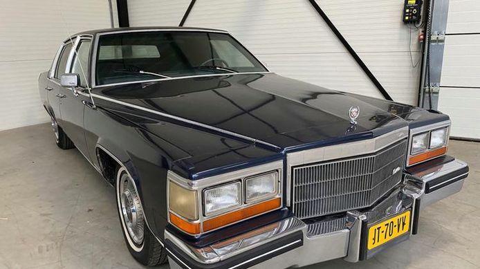 De Cadillac die van Freddy Heineken zou zijn geweest, werd vorige week geveild.