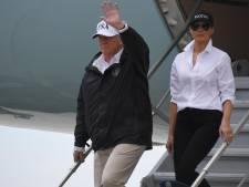 Donald Trump est arrivé au Texas