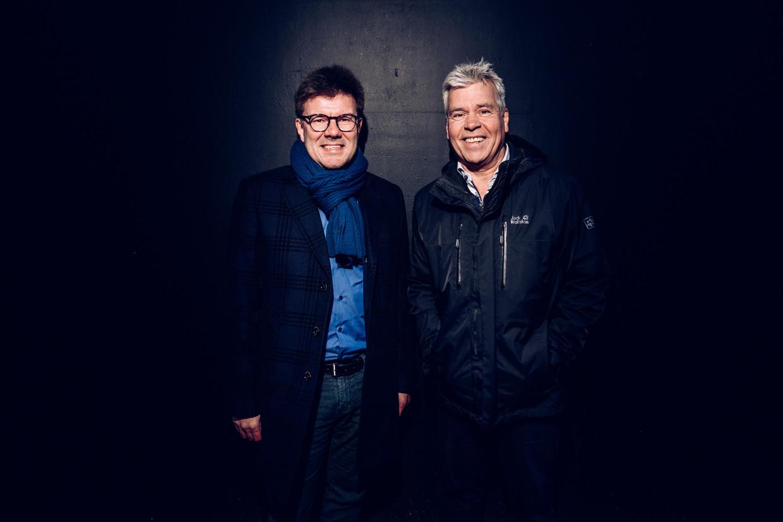 Sven Gatz (Open Vld) en Bert Anciaux (sp.a).
