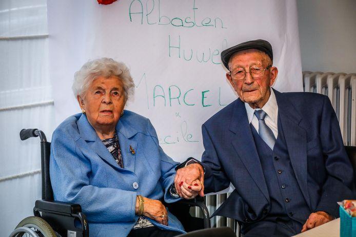 Cecilia en Marcellus vierden zaterdag hun 75-jarig jubileum.
