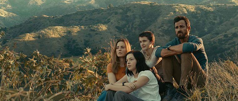 Het gezin Fox in 'The Mosquito Coast'. Beeld Apple