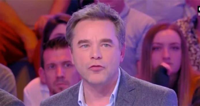 Guillaume de Tonquédec sur le plateau de Touche Pas à Mon Poste