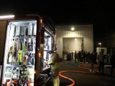 Brand op industrieterrein in Bunschoten-Spakenburg snel onder controle