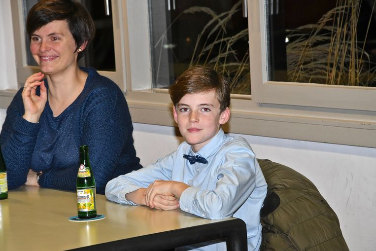 Willem Stock is de jongste gezondheidsambassadeur in Wevelgem.