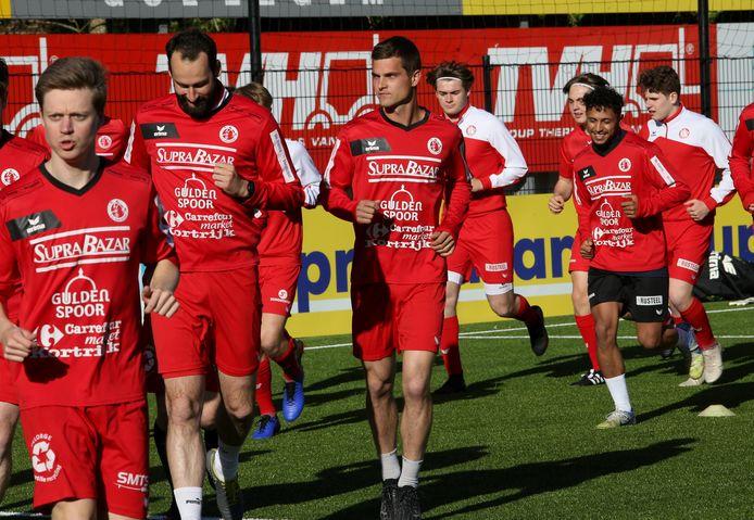 FC Gullegem hervatte op vrijwillige basis de trainingen.
