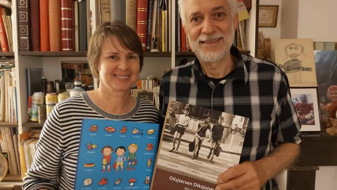 Dialectboeken blijven populair: Jan Louies schrijft vierde 'Oilsjtersen Diksjoneir', Kathleen Amant volgt zijn voorbeeld met 'Oilsjters Beljekesboek'