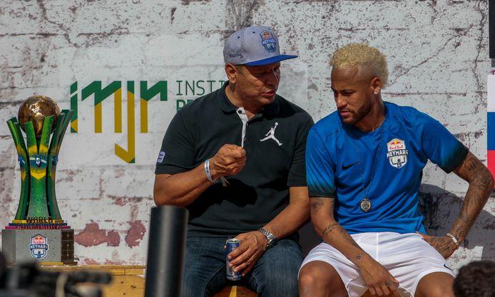 Vader en zoon Neymar.