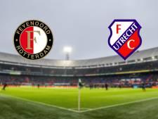 Feyenoord ontvangt Utrecht