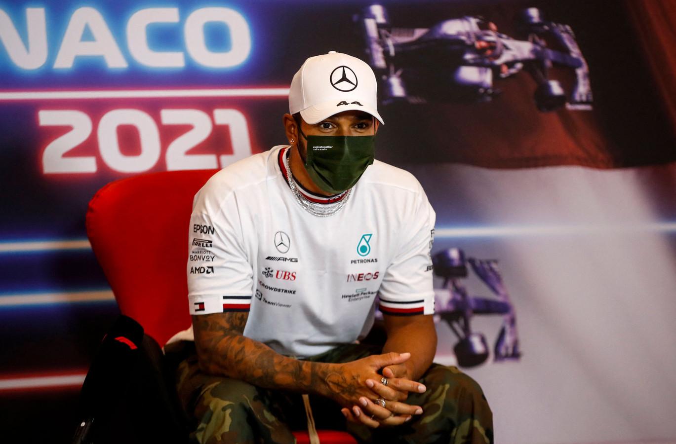 Mercedes-coureur Lewis Hamilton.