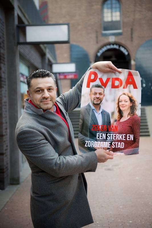 Nederland/Nijmegen: 27-02-2018 Ammar Selman, PvdADgfotoFoto: Bert Beelen
