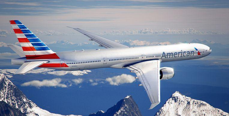 De 777ER is het grootste model van Boeing. Maar de toiletten erin worden kleiner. Beeld American