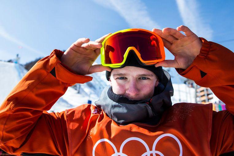 Niek van der Velden was de jongste Nederlandse deelnemer. Beeld ANP